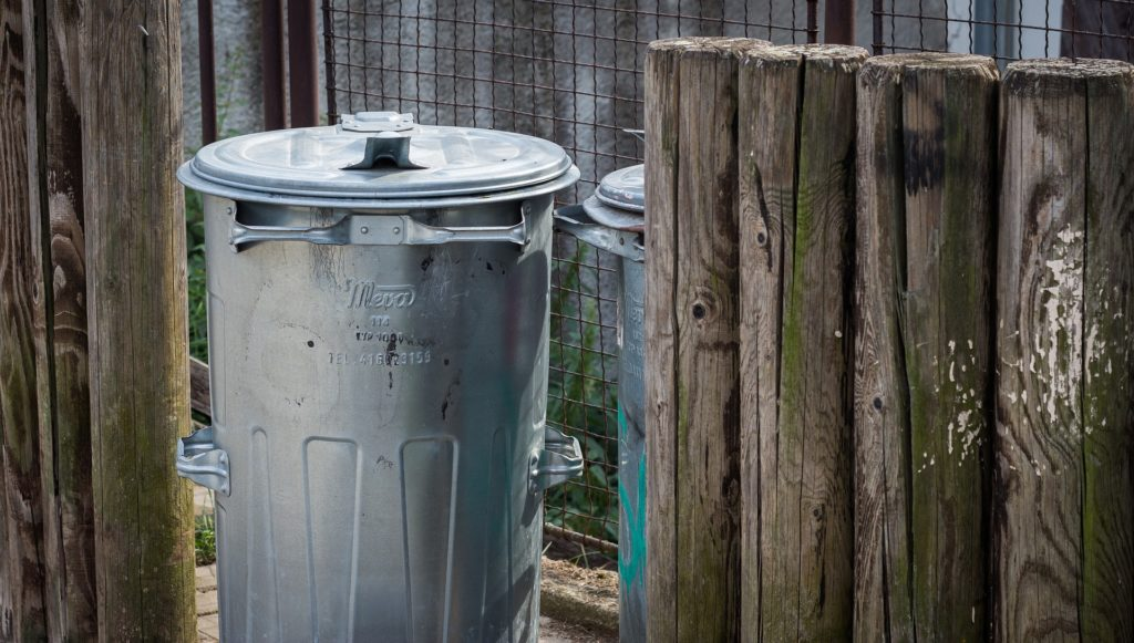 trash can winter pest prevention