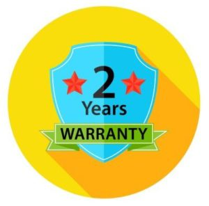 2 Year warranty badge for rat control services